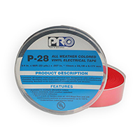 "PROTAPES P28 3/4"" RED"