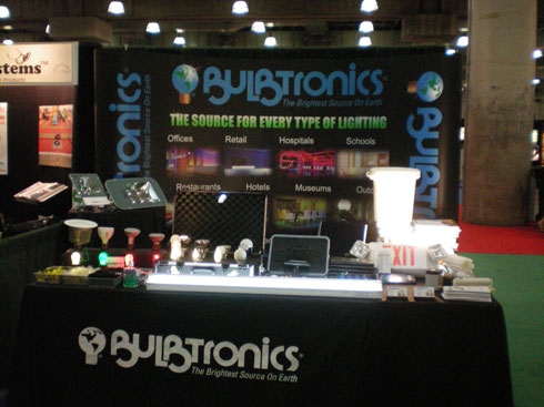 Bulbtronics GreenBuildingsNY 2009 Booth
