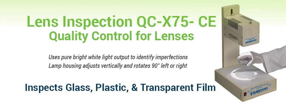 Lens Inspection QC-X75-CE